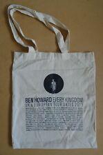 BEN HOWARD Every Kingdom 2011 UK & European Tour tote bag