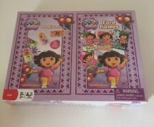 Dora the Explorer Dominoes and Card Game New