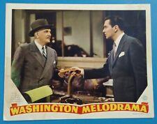 Washington Melodrama - original lobby card