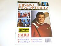 Final Frontier 2 The Star Trek Magazine UK II III IV V Khan Spock Voyage Home