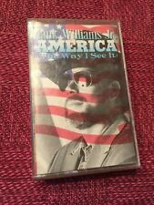 2 cassette tapes, Statler Brothers Today + Hank Williams Jr. America the Way I..