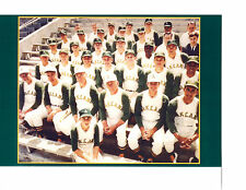 1968 OAKLAND ATHLETICS A'S  8X10 TEAM PHOTO BASEBALL JOE DIMAGGIO