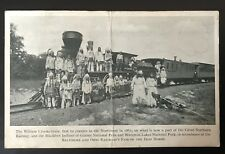 Train Post Card - William Crooks - Baltimore And Ohio Railroad - Operated 1861