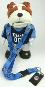 Tennessee Titans  Lanyard  Detachable  Keychain Breakaway Blue Strap  Football