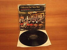 SXL 6626 : Welcome The New Year : Vienna Philharmonic Orch - Willi Boskovsky
