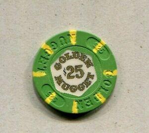 1st Issue $25.00 Casino Chip - Golden Nugget (Wynn) , Atlantic City, NJ