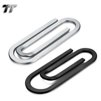 High Quality TT 316L Brushed Stainless Steel Paper Clip Style Money Clip (MC53)