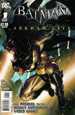 Paul Dini & Carlos D'Anda - BATMAN: ARKHAM CITY #1 [Prequel to video game]