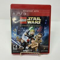 PS3 Lego Star Wars the Complete Saga (Sony Playstation 3) Complete Free Shipping