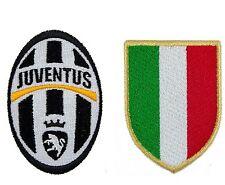 Toppa Patch Stemma JUVE + SCUDETTO italia calcio figc juve roma inter soccer