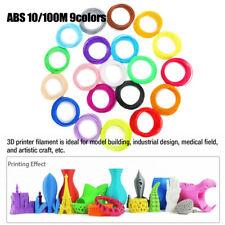 Para 3D Impresora Filamento 1.75mm ABS Pla Petg Seda + 1kg/1kg Múltiple Color
