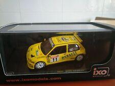 COCHE 1/43, IXO, MODELO RENAULT CLIO MAXI RALLYE DU ROUERGUE 1995, RAC157.