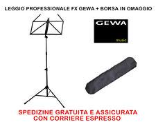 LEGGIO PROFESSIONALE GEWA PIEGHEVOLE TRASPORTABILE CON BORSA