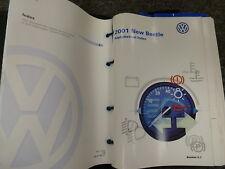 2001 Volkswagen VW New Beetle Hatchback Owner Manual GLX Sport Edition GLS TDI