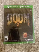 Doom 3 BFG Edition: Xbox One / Xbox 360 BRAND NEW FACTORY SEALED