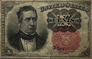 1874 10 Cent United States Note Fractional Currency 10C