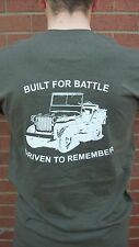 WW2 WILLYS MB FORD GPW JEEP TRIBUTE TO THE SOLDERS BEST FRIEND QUALITY SHIRT 1