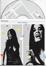 LOIS LANE - When i'm with you CD SINGLE 2TR Enh Dutch Cardsleeve 2002 (DURECO)