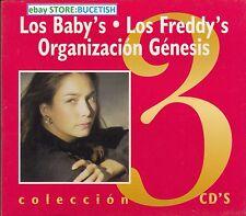 Los Babys,Los Freddys,Organizacion Genesis Box set 3CD New Nuevo sealed