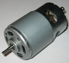 1/4 HP Motor - 14.4 VDC Electric Motor - 185 Watt - 17,600 RPM - 775 Frame Size