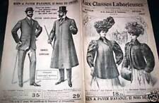 """CATALOGUE MODE """"AUX CLASSES LABORIEUSES"""" 1907"""