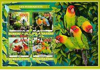 Papagei Burkina Faso 2019  gestempelt 2010