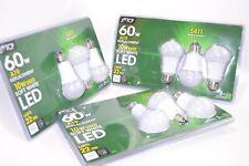 NEW Total 9 TCP LED BULBS (Lot 3) A19 60W Equivalent 10W Soft White Light 2700K