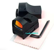 Tactical Mini Compact Reflex Micro Red laser Dot Sight Fit F Scope Rifle&Pistol