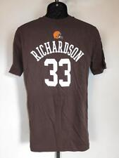 New-Flaw- Cleveland Browns Trent Richardson #33 Youth XLarge (XL 18/20) Shirt