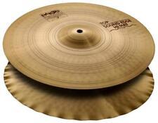 """Paiste 2002 15"""" Sound Edge Hi-Hat Becken Cymbal Bronze Handarbeit Schweiz Drum"""
