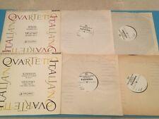 Columbia Test Pressing Quartetto Italiano Schumann Ravel LP