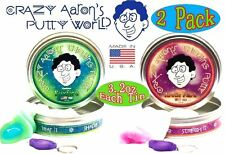Foxfire Arctic Flare UV Reactive Phantoms Crazy Aaron's Thinking Putty 2 pack