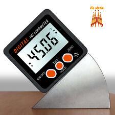 Inclinómetro Digital Protractor 4 * 90 ° Nivel Buscador de ángulos de Caja