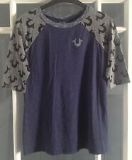 True Religion Damen T-Shirt Größe L, NEU
