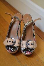 RRP $399.90 GUESS platform stiletto sandal heels SIZE 9 NET A PORTER