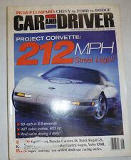Car And Driver Magazine Project Corvette June 1986 022615r2