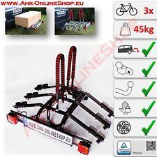 Fahrradträger für Anhängerkupplung für 3 Fahrräder Heckträger Fahrradheckträger