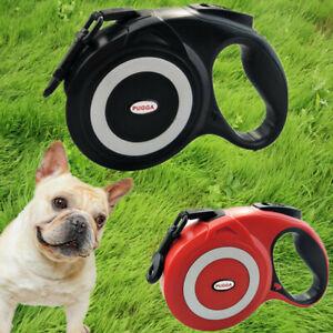 8m/5m Pet Dog Heavy Duty Durable Retractable Dog Walking Leash Size Medium Large