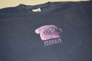 The Prodigy T-Shirt Music Keith Flint 90er Vintage Communications Pink Phone XL