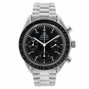 Omega Speedmaster Reduced 39mm Steel Black Dial Automatic Mens Watch 3510.50.00