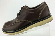 Red Wing Oxford Brown Leather Casual Sneaker Comfort Moc Walking Mens Size 9 W