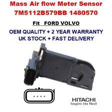Mass Air Flow meter Sensor 7M5112B579BB 1480570 for FORD VOLVO Genuine OEM