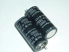 3pcs 250V200uF 250V 14X32mm FKX Rubycon photo Flash Capacitor