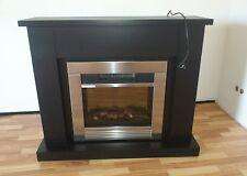 B- Ware Elektrokamin Shadow Classic Fire Flammeneffekt schwarz Seidenmatt*