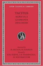 Tacitus: Agricola, Germania, Dialogus (Loeb Classical Library): 001 by Cornelius