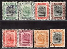 BRUNEI 1907/21 EIGHT STAMPS USED
