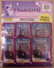 Panini Frozen 2 Frozen sticker /& cards todos 3 mini Tin latas Disney
