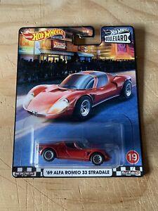 Hot Wheels Premium Boulevard '69 Alfa Romeo 33 Stradale