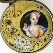 Silver pocket watch, verge - Act of Union, London, 1707