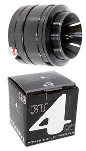 "Massive Audio CT4X 1"" 120 Watt 4 Ohm Titanium Power Bullet Neodymium Tweeter"